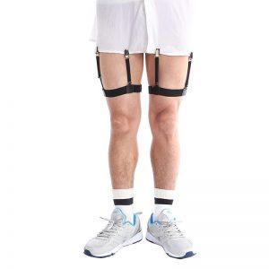 Adjustable Men's Shirt-Holding Garter Suspender