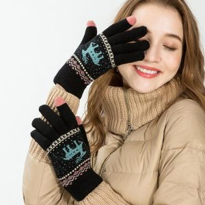 Alpine Touch Screen Knit Gloves