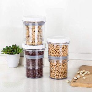 Adjustable Food Storage Jar