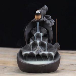 Lotus Fountain Incense Holder
