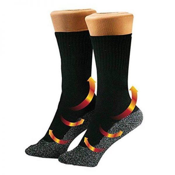 Compression Socks with Copper Fibers