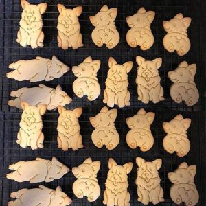Corgi Shape Cookie Cutter Set