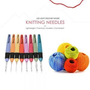 LED Light Crochet Hooks