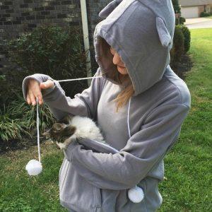 Cuddly Kangaroo Pet Lover Hoodie