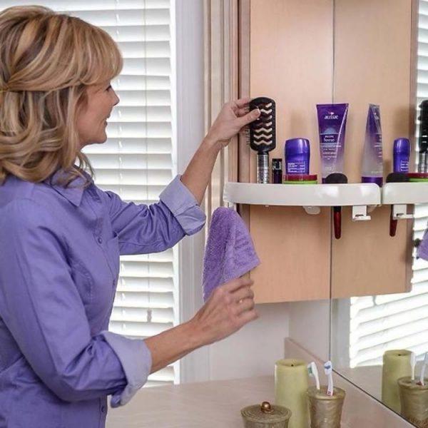 Corner Shelf Organizer
