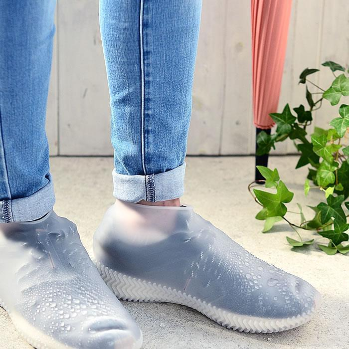 Silicovers Non-Slip Shoe Covers - Milky