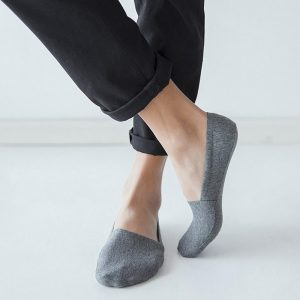 Anti Slip No Show Socks 5-Pack