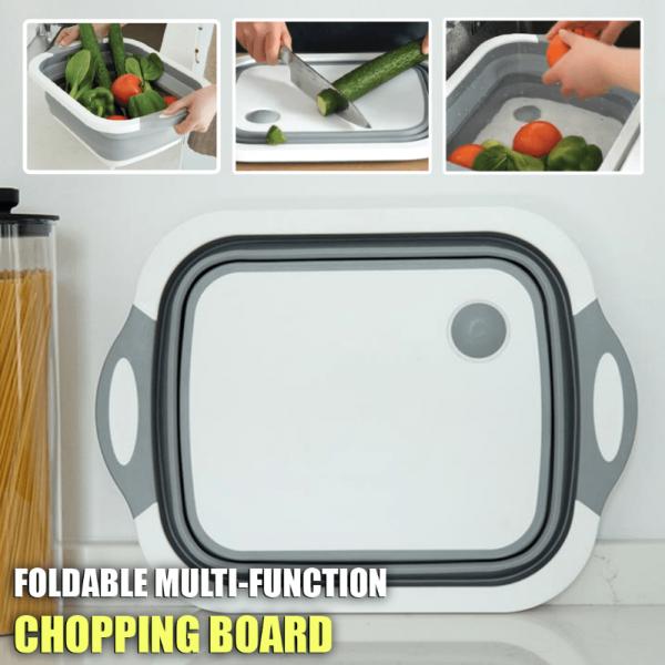 Foldable Multi-Function Chopping Board