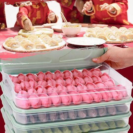 Refrigerator Dumpling Storage Box