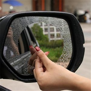 Magic Mirror Anti-fog Shield For Rearview Mirror 2Pack