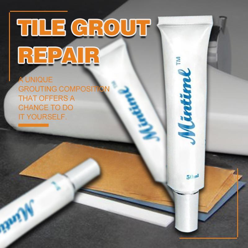 Tile Grout Repair Milky Spoon
